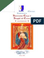 Corpus Christi Vesperas II