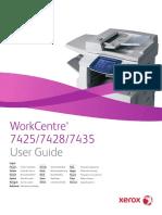 Photocopy Xerox 74XX User Guide
