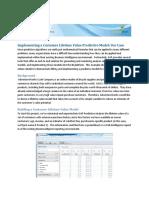 Predictive Analytics Doc