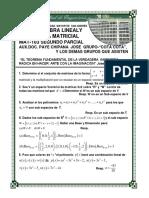 Practica 2 Parcial Lineal