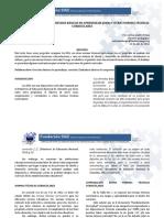 Comparacion Entre Los DBA Las Normas Tecnicas Curriculares