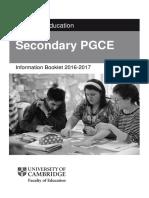 Cambridge PGCE Information Booklet (1)