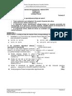 E d Informatica Pascal Sp SN 2016 Var 09 LRO