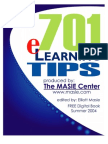 701 e-Learning Tips