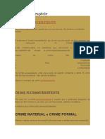 Crimes Em Espécie