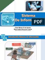 Sistema de Información Clase 23 de Agosto