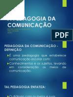 Pedagogia Da Comunicação - Noções Iniciais