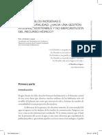 Agua, Pueblos Indígenas e Interculturalidad. Toni Jiménez