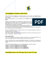 Info en Inschrijvingsformulier KJV 2016 2017
