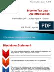 IP4ACh1U1IncomeTaxlaw-AnIntroduction