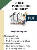 4.1 Computer Ethics