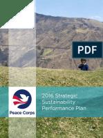 Peace Corps 2016 Strategic Sustainability Performance Plan