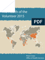 Peace Corps The Health of the Volunteer Hov 2015
