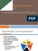 Body Language Non Verbal Communication