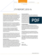 Business Responsibility Report 2013-14