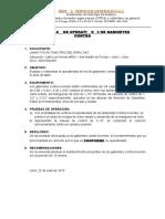 Certificado de Operatividad de Sistema de Rociadores