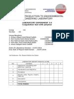CEEB221 Coagulation Test with Polymer