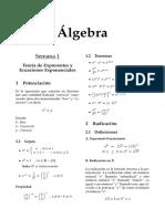Álgebra (2)