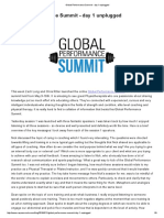 Global Performance Summit - day 1 unplugged — Rayner & Smale.pdf