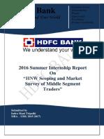 HDFC Bank report