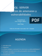 COMO MITIGAR AMENAZAS EN UNA BASE DATOS SQL.ppt