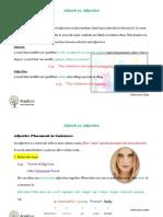 Adverb vs. Adjective (1)