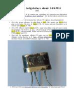 Inventaris elektronica onderdelen, Jwr47, Stand 12-09-2016