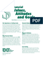 r1 - financial values attitudes and goals