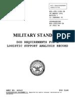 MIL STD 1388 2B DoD Requirements