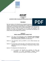 2009 AICAP Revised Constitution - Long