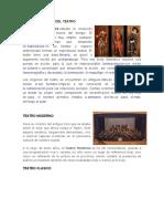 Historia y Origen Del Teatro