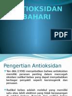 Antioksidan Bahari