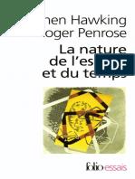 eBook La Nature de l Espace Et Du Temps - Stephen Hawking Et Roger Penrose