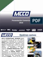 Presentación Comercial MCCO