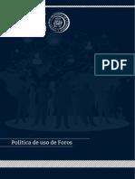 Politica de Foros