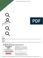 As 68 Fórmulas Mais Usadas Do Excel _ Listas _ TechTudo