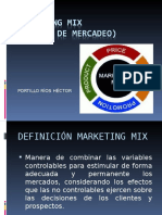 Marketing Mix Cuatro Ps