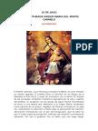 Virgen Del Carmen Liturgia de La Eucarista