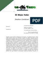 Gordimer, Nadine - El Mejor Safari