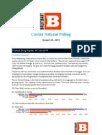 Breitbart National Poll Aug 26 Release