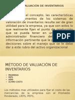 Metodo Valuacion de Inventarios