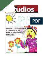 Genero, Diversidad y Diferencia en Educacion Infantil y Primaria