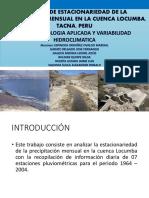 Analisis de Estacionariedad en Las Cuencas Locumba-sama