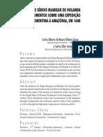 CAMENIETZKI, C. Z.; ZERON, C. A. M. R. Nas Sendas de Sérgio Buarque de Holanda. Documentos Sobre Uma Expedição Florentina à Amazônia, Em 1608
