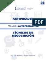Tecnicas de Negociacion - Universidad Continental
