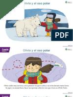 Kinder Cuento Olivia y El Oso Polar