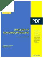 Bogdan VOICU - Jonglerii Pe Marginea Prapastiei, V2.01. Petrolul Ploiești 2015/2016