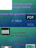 CALZADO DE GUANTES