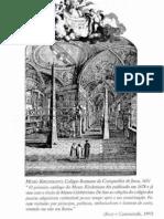 CAMENIETZKI, Carlos Ziller; KURY, L. B. - Ordem e Natureza. Coleções e Cultura Científica Na Europa Moderna.