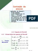 Theory Presentation Maxwell Equations